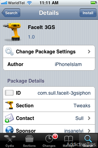 FaceIt [Jailbreak] Ative o FaceTime no iPhone 3GS
