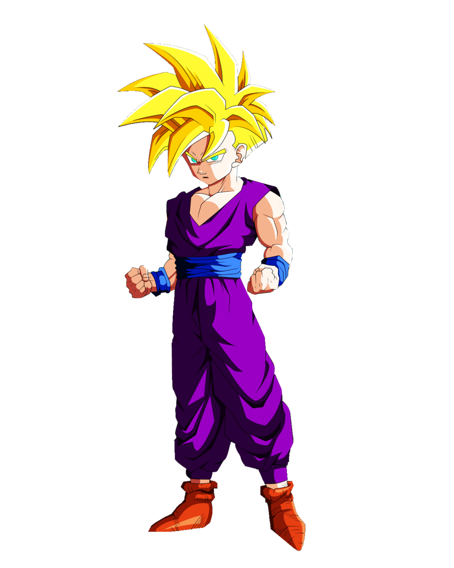 Dragon ball z seguimos con gohan - Son gohan super saiyan 4 ...