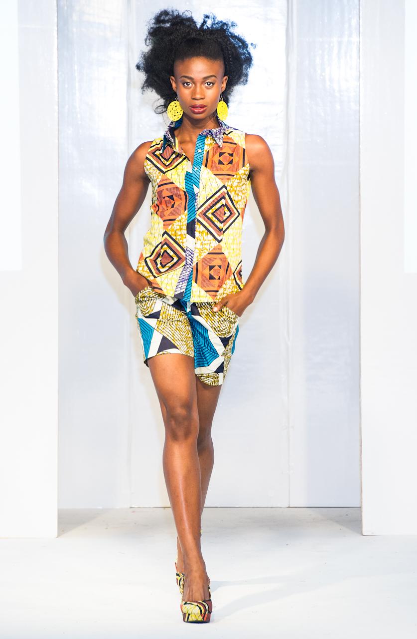 Afroccentric Fashion Blogs Kiki Clothing At Africa Fashion Week London 2012