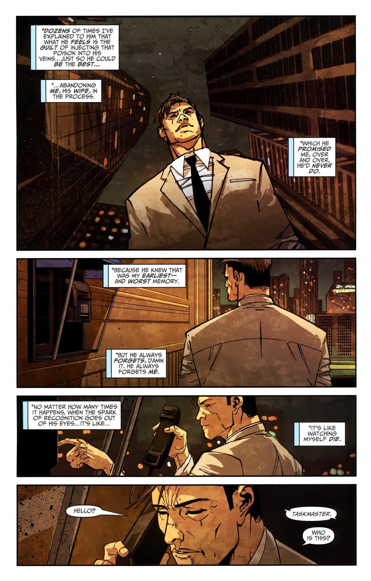 Read online Taskmaster (2010) comic -  Issue #4 - 22
