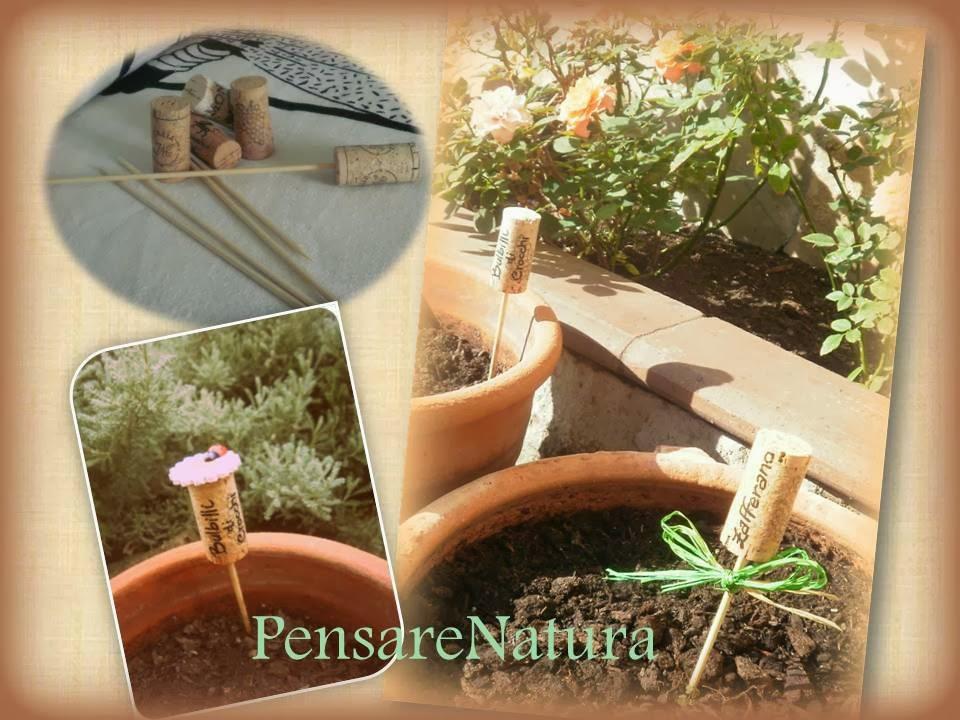 Pensare natura idea per riciclare i tappi di sughero - Sughero pianta da giardino ...