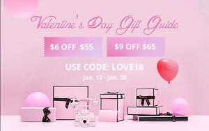 Valentines  sales 2018