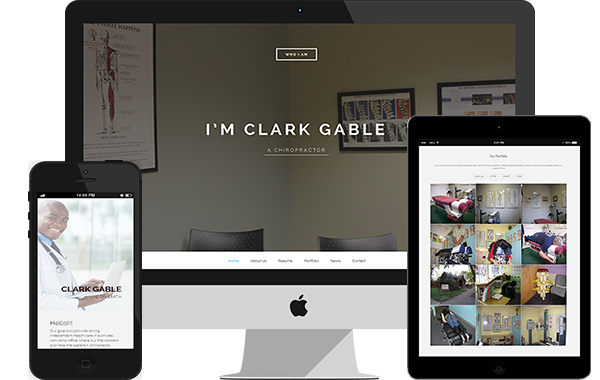 Chiropractor – Personal Resume Page
