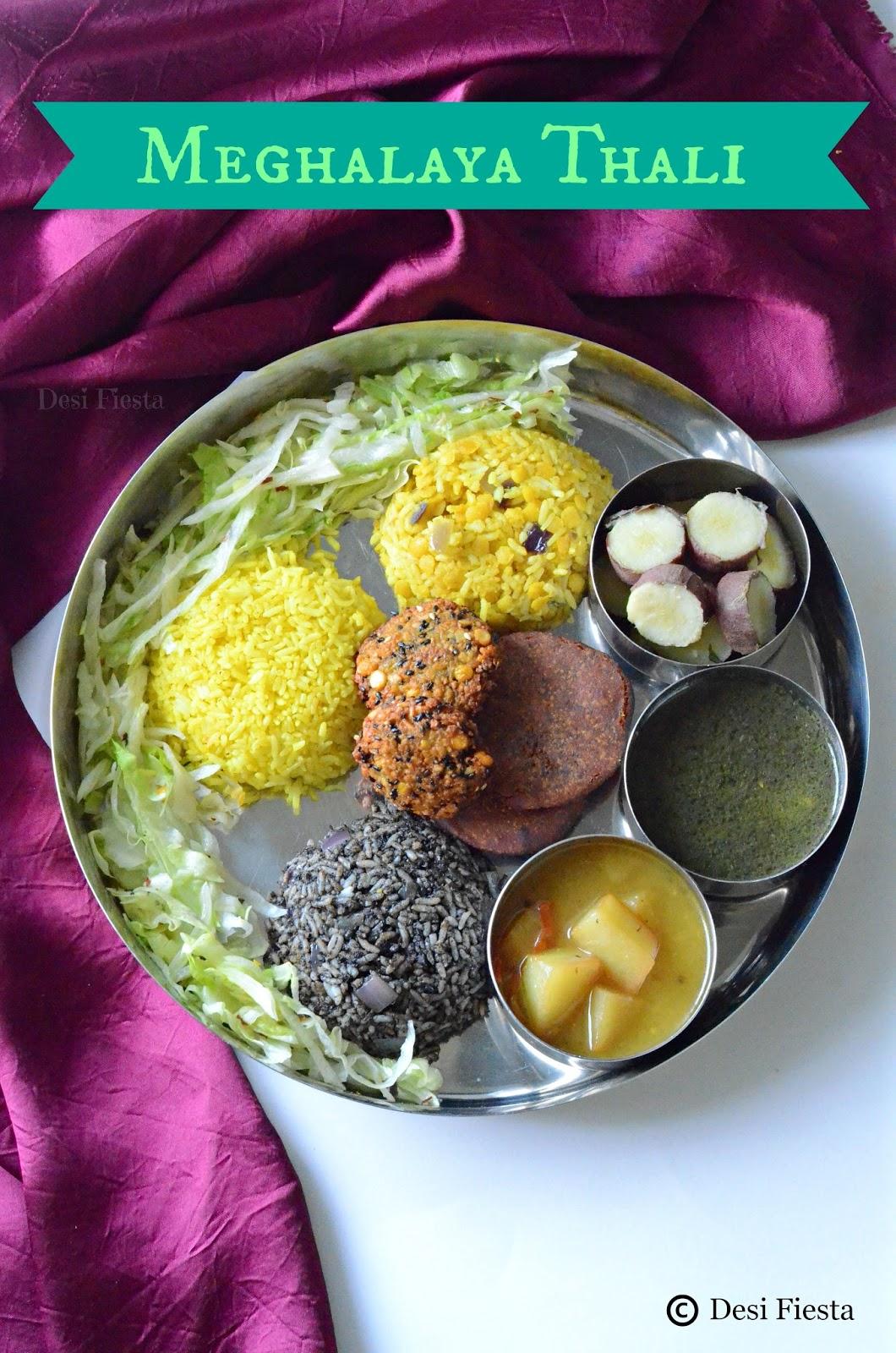 Khasi , jaintias, Garo tribe dishes