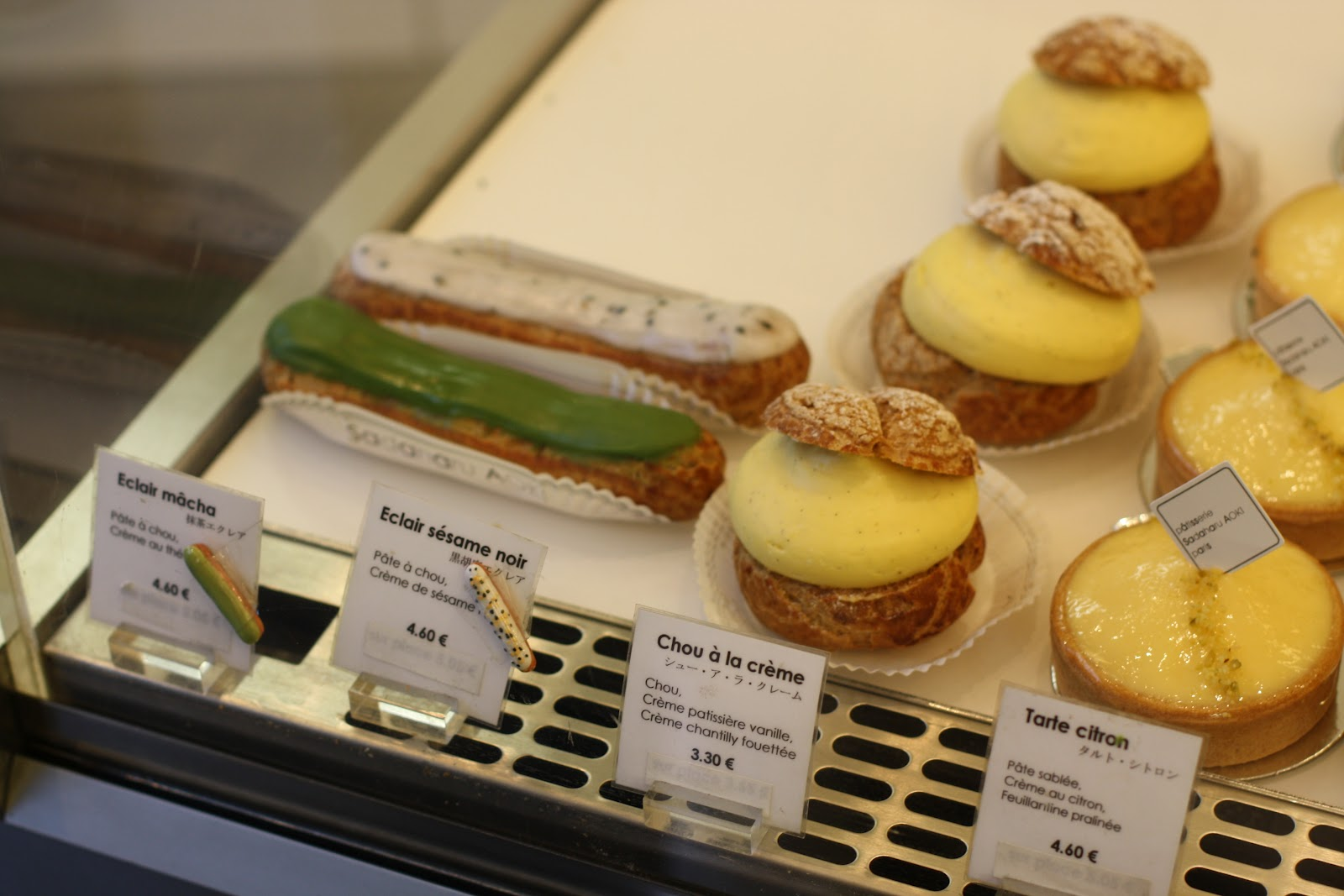 Tokyo,born patisserie maestro Sadaharu Aoki combines traditional French  technical savoir,faire with Japanese ingredients in his four Parisian  boutiques for