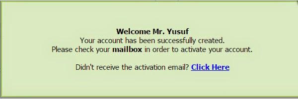 confirmasi Email