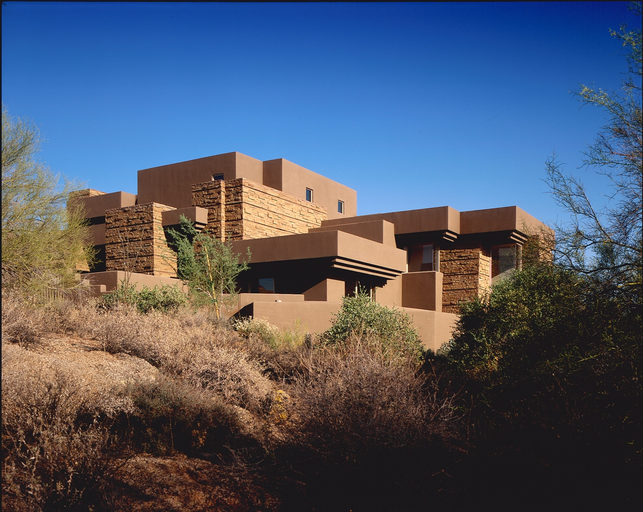 house magical desert contemporary