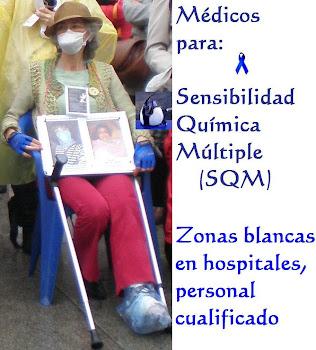 Sensibilidad Química Múltiple (SQM)      Zonas blancas en hospitales, personal cualificado