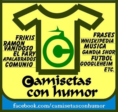 CAMISETAS CON HUMOR