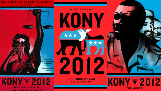 frre kony 2012 posters