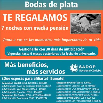 Bodas de plata SADOP OSDOP Córdoba