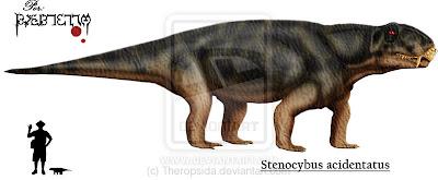 bestias prehistoricas Stenocybus
