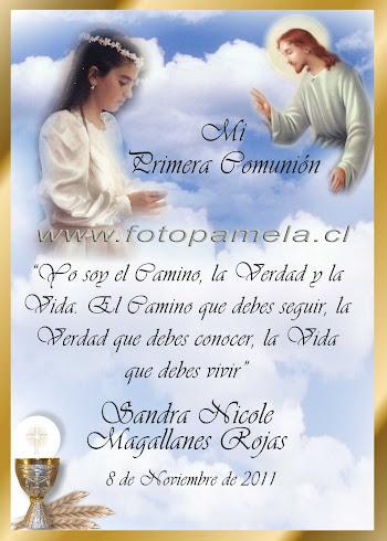 PRIMERA COMUNION RECUERDO