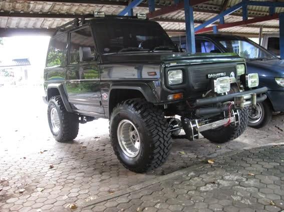 Modifikasi Daihatsu Taft Diesel 1982