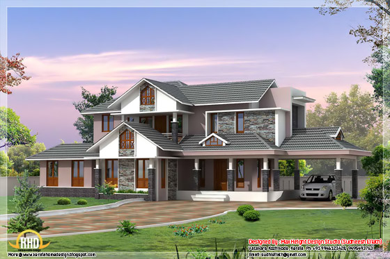 2950 square feet Kerala home design 2