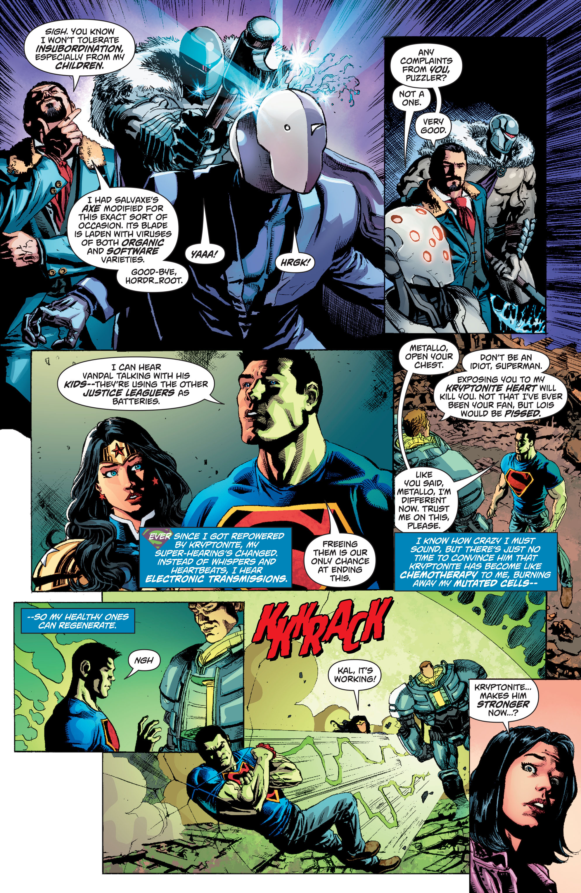Read online Superman (2011) comic -  Issue #49 - 12
