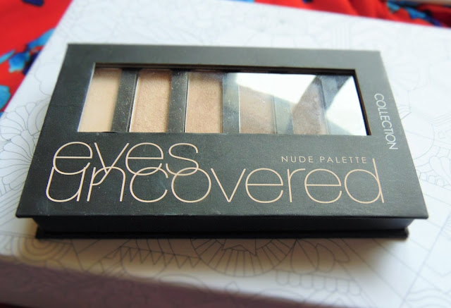 Disappointing products - Strike 2!! collection eyes uncovered nude palette
