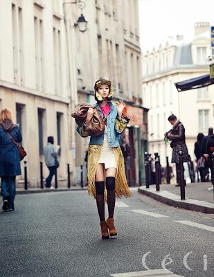 Go Joon Hee - Ceci Magazine November Issue 2013