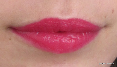 Cherry Picking lip swatch