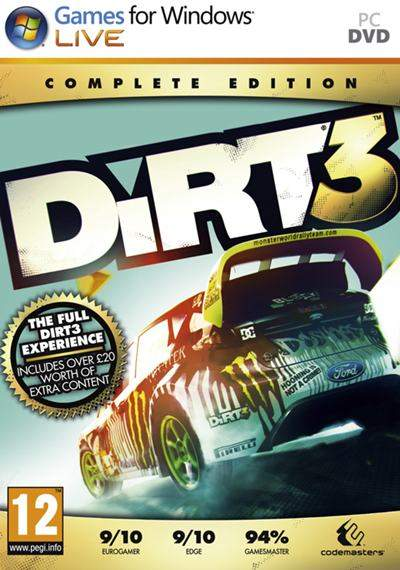 DiRT 3 Complete Edition [Español] [Fightclub] [DVD9] [2012]