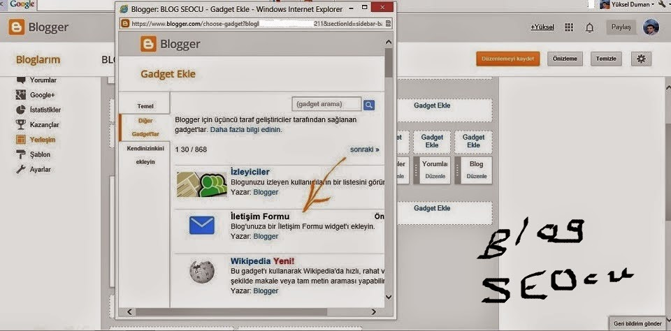 http://blogseocu.blogspot.com/2014/05/blogger-iletisim-formunu-sabit-sayfaya.html