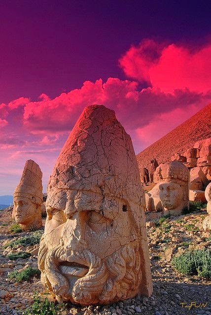 Nemrut Mountain, Turkey