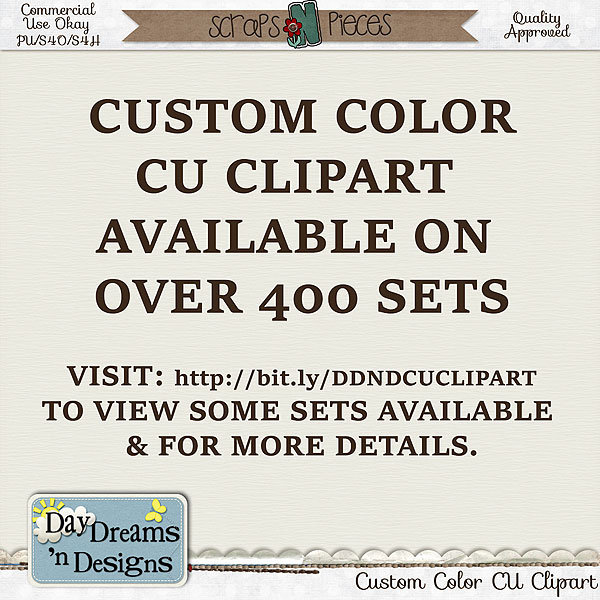 Custom Colored CU Clipart - Click here: