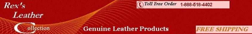 Rex's Leather Collection