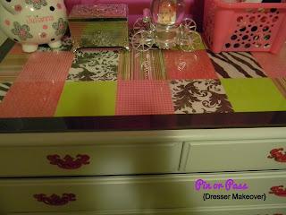 DIY dresser topper