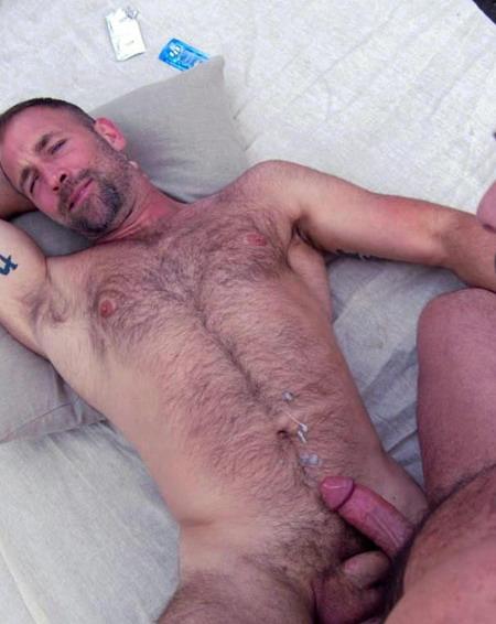 Hot Cum Shots: Hairy Men Cum