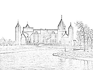 Westhove Castle Sketch
