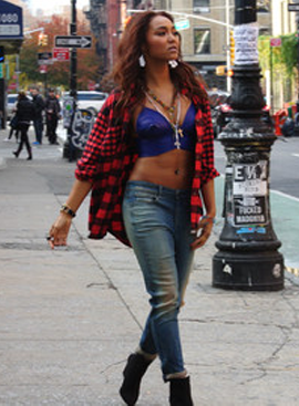 "Crystal Kay is ""Busy doing nothing"" in NYC 