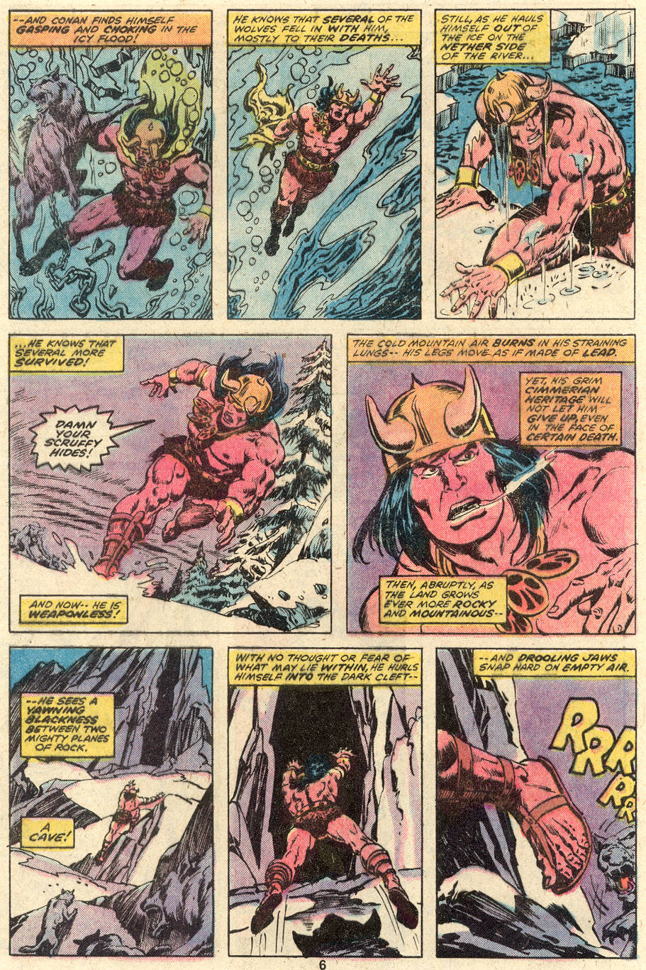 Conan the Barbarian (1970) Issue #92 #104 - English 6