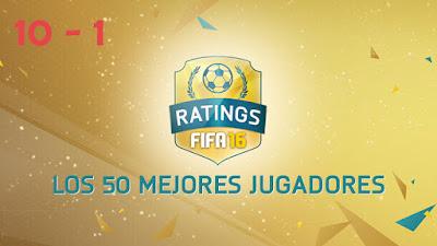 Los mejores jugadores de FIFA 16 Ultimate Team, los jugadores con más media de FUT 16