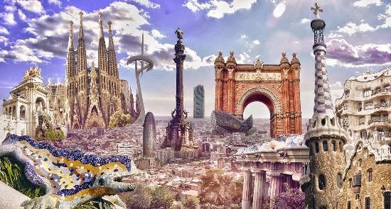 Barcellona vista
