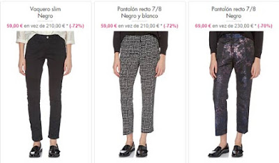 pantalones faldas