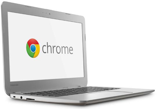 Komputer Riba Terkini Toshiba Chromebook