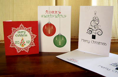 Papier Mouse Design Christmas Cards