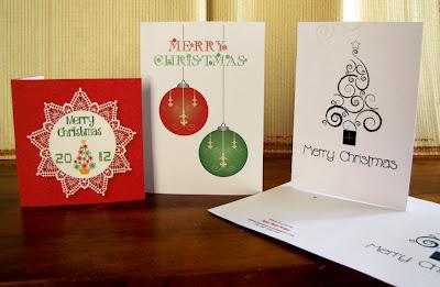 Papier Mouse Design Christmas Cards
