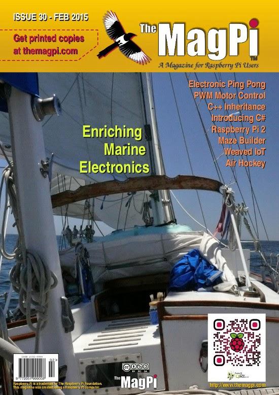 The MagPi 30ª edição