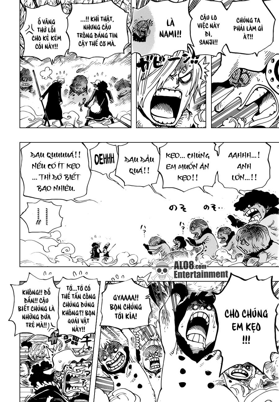 One Piece Chapter 673: Vergo & Joker 006