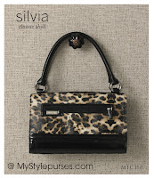 Miche Bag Silvia Classic Shell, Leopard Print Purse
