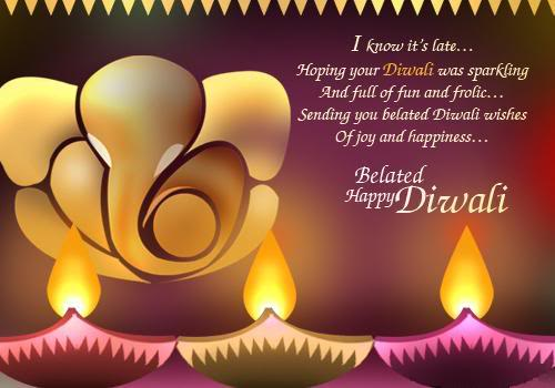 Happy Diwali Saying Wishes 2016