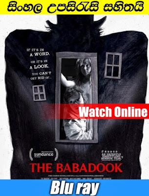 Watch Online The Babadook 2014 With Sinhala Subtitle
