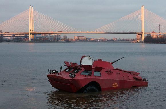 Taksi BTR-40 Rusia