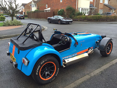 The Caterham R500 is back!