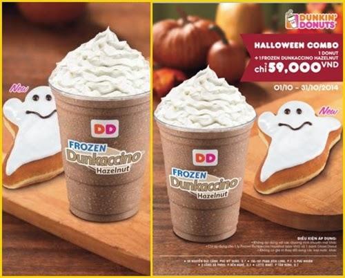 Ưu đãi combo Halloween chỉ với 59.000đ tại Dunkin' Donuts - 1