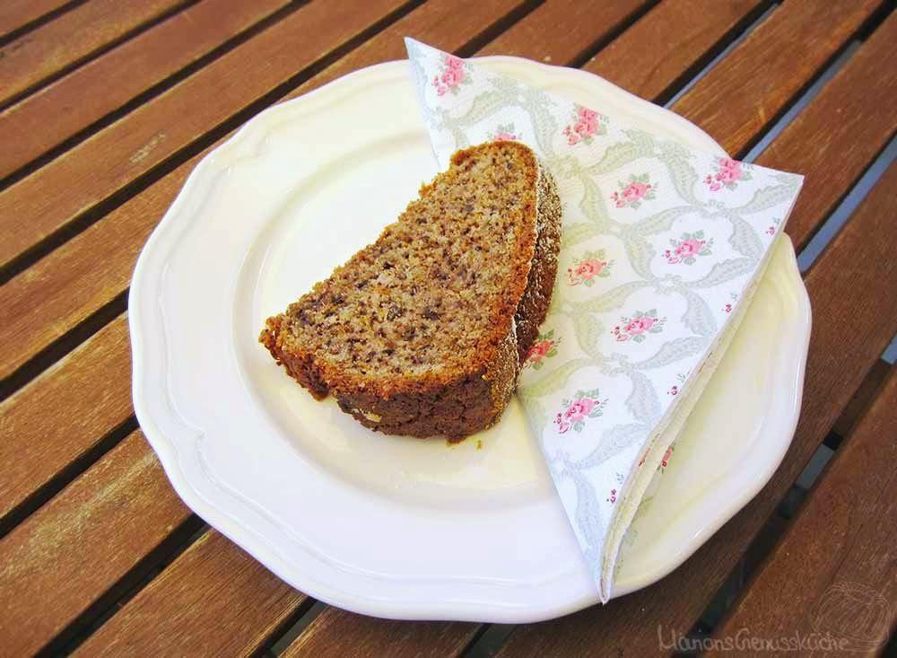 Rezept für Zucchini Walnuss Kuchen