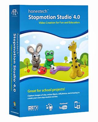 Honestech Stopmotion Studio 4.0, stop motion video software, children stop motion project