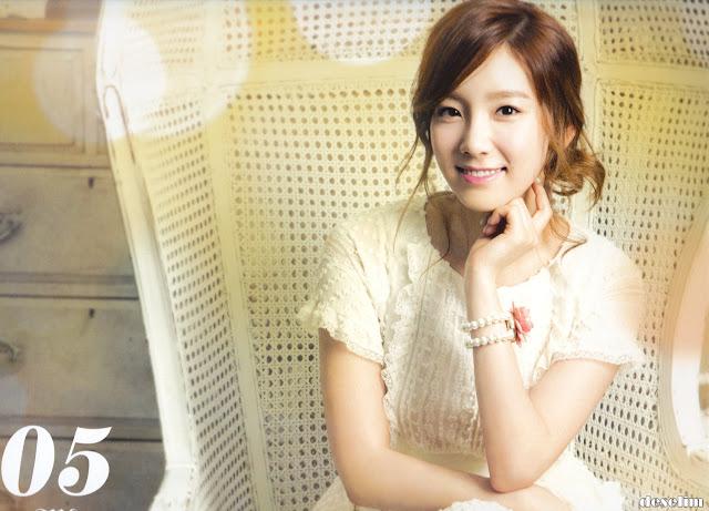 SNSD Taeyeon Calendar 2013 wallpaper